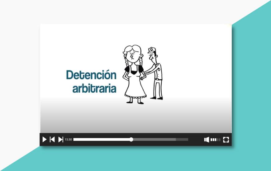 ¿Alguna vez has presenciado una detención arbitraria?