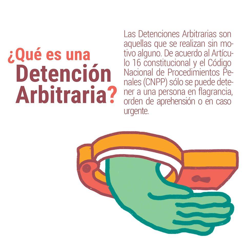 ¿Sabes qué es una Detención Arbitraria (DA)?