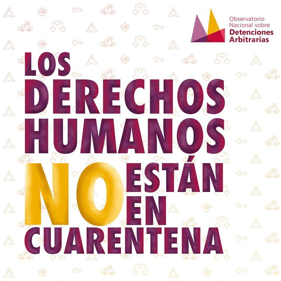 Los derechos humanos no están en cuarentena