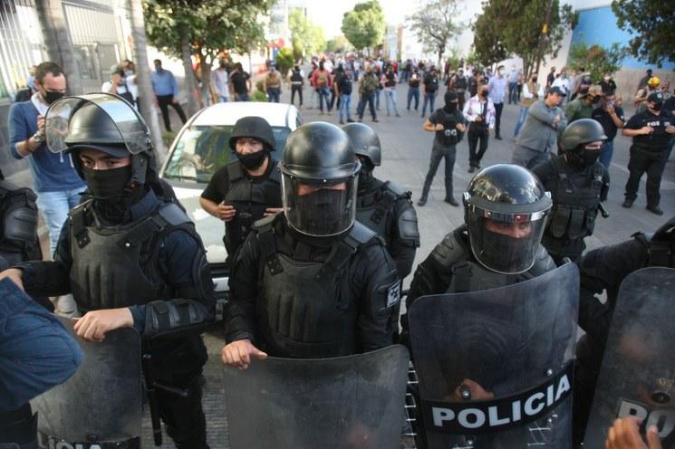 Observatorio critica actuación de Alfaro frente a protestas