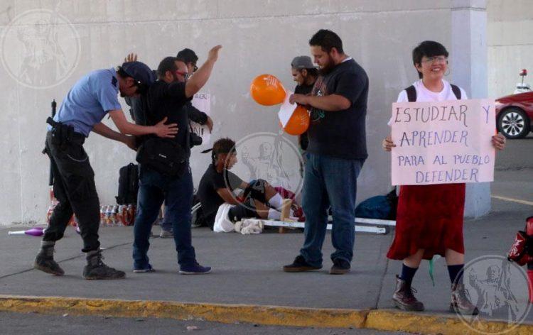 Organizaciones de Juárez se manifiestan en contra de las detenciones arbitrarias