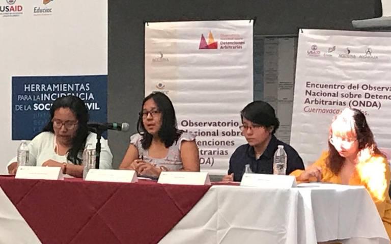 Se normaliza en Morelos la detención arbitraria